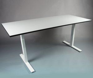 SMART TABLE frame met tafelblad - zit sta bureau - thuiswerktafel