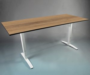 OMT frame met tafelblad - zit sta bureau - thuiswerktafel
