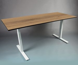 SMART TABLE frame met tafelblad - zit sta bureau - thuiswerk bureau