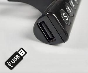 SMART TABLE bedieningspaneel met USB - zit sta bureau - thuiswerktafel